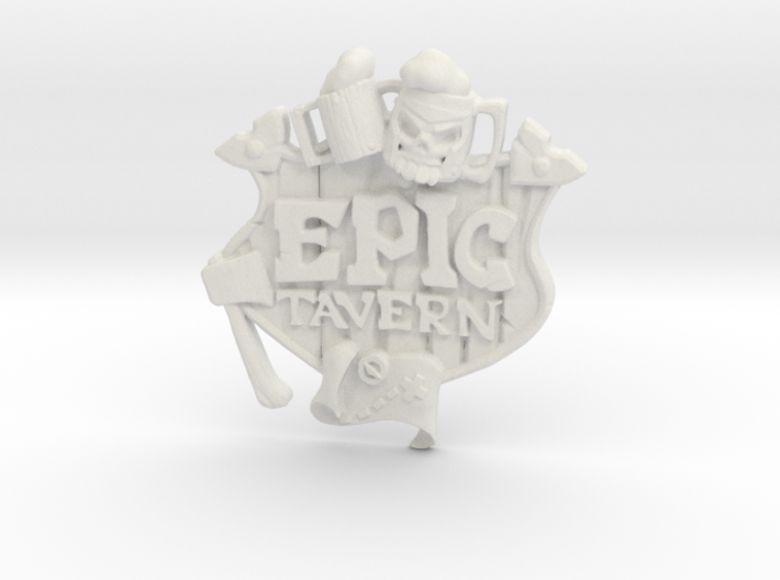 EPIC TAVERN Coat Of Arms 3d printed