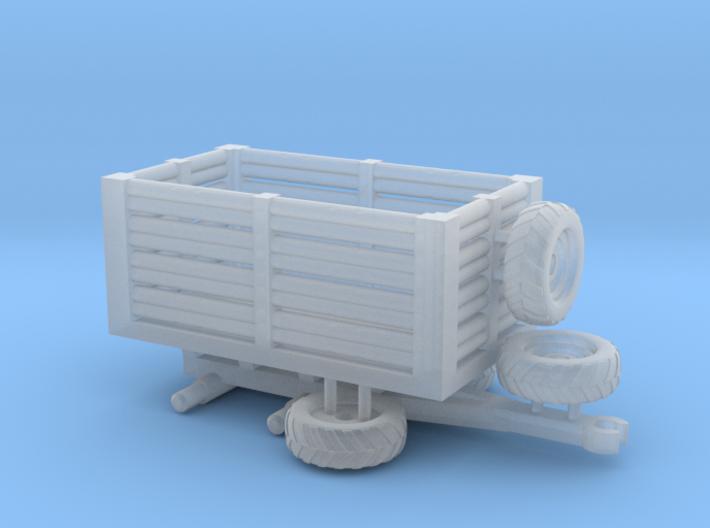 N Gauge Tractor Trailer B 3d printed