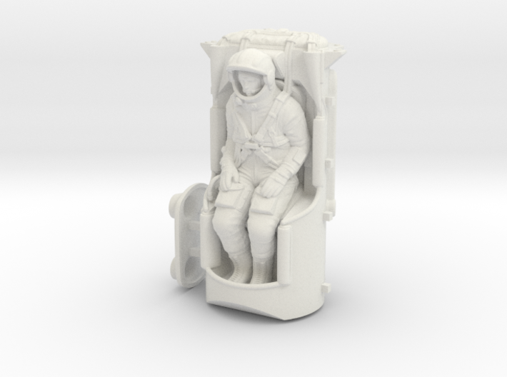 Yuri Gagarin Vostok Ejection Seat 1:24 / 1:35 3d printed