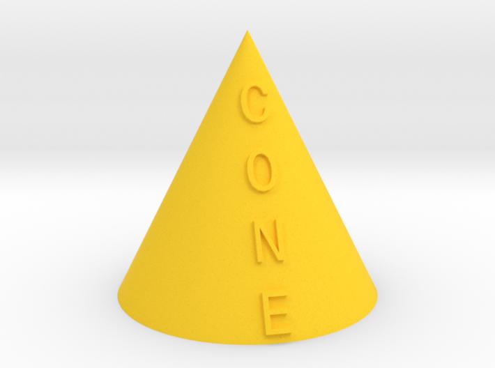 Cone 3d printed