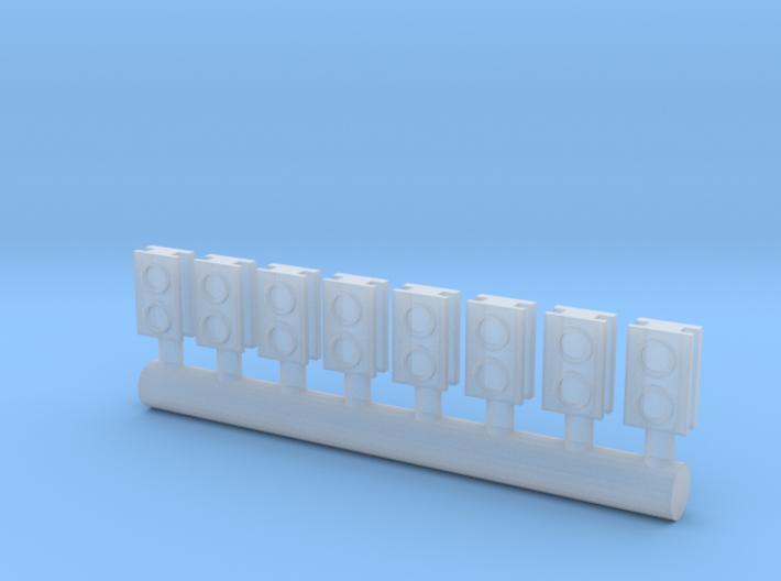 8 Lampenattrappen für Roco BR 290/V90 (N 1:160) 3d printed