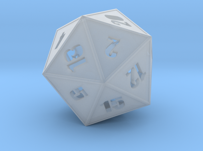 D20 - Simple Hollow 3d printed