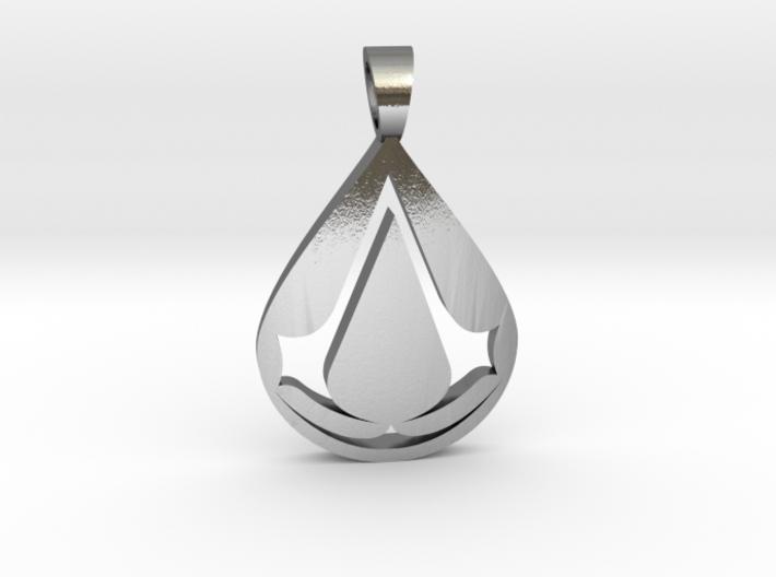 Assassin [pendant] 3d printed