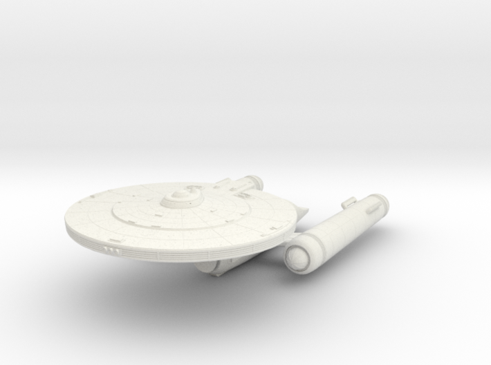 Constitution V Class Cruiser 3d printed