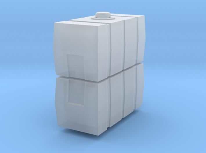 1/64 Scale 50 Gallon Rectangle Tank 2X 3d printed