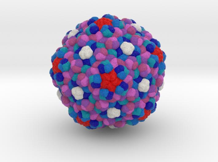 Marine Bacteriophage TW1 3d printed