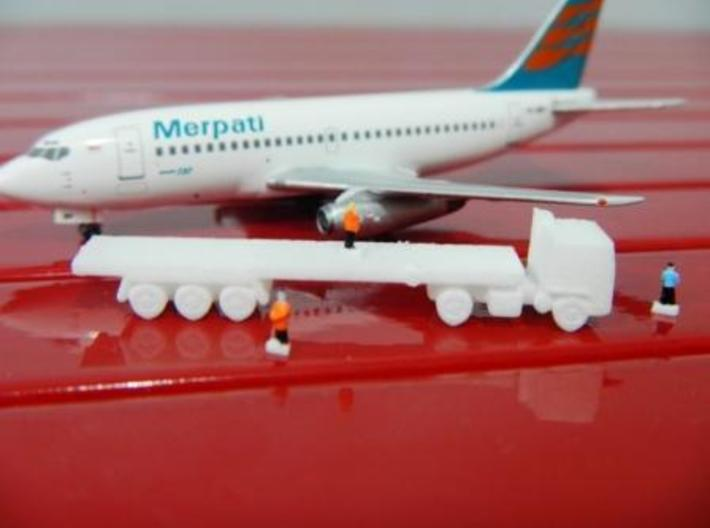 Airport GSE 1:400 Truck Trailer flatbed 3d printed