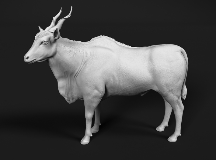 Common Eland 1:20 Standing Male 3d printed