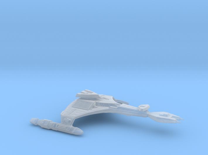 Klingon Vor'cha Class Attack Cruiser 1:7000 3d printed