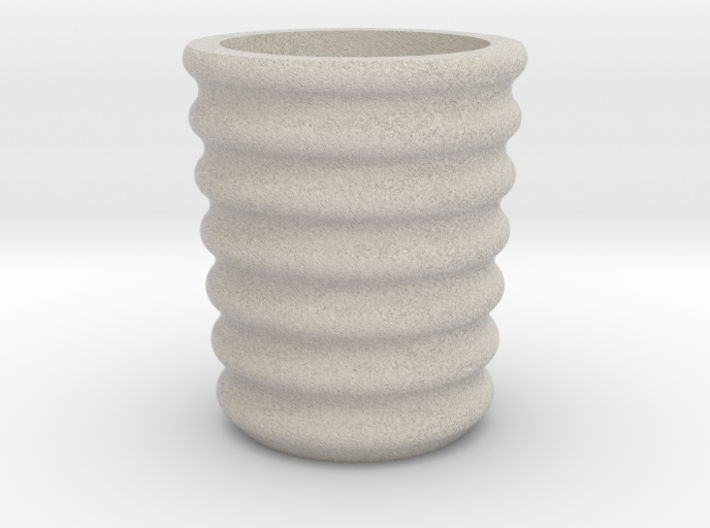 Shot glass Planter6 3d printed