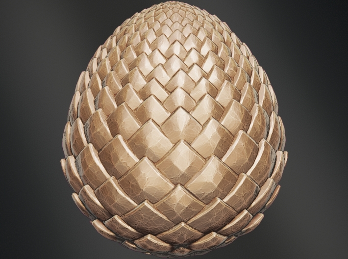 Game Of Thrones - Dragon Egg 3d printed Game Of Thrones - Dragon Egg