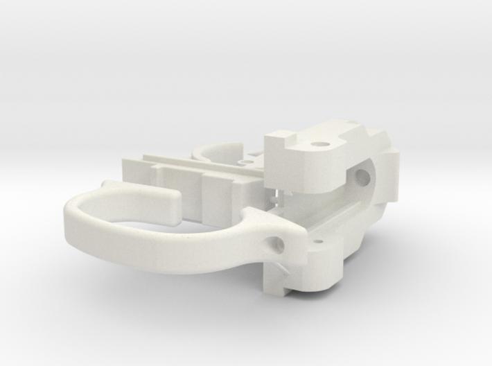 Webley Flaregun Mechanical Parts 3d printed