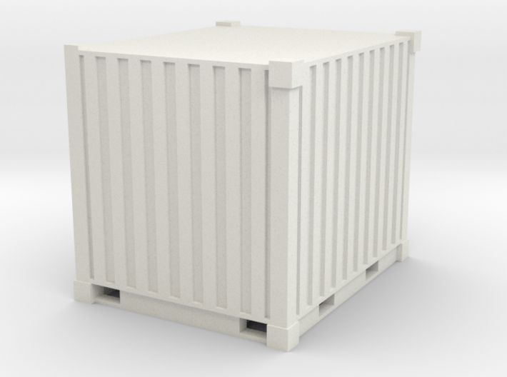 1/87Container_10ft 3d printed