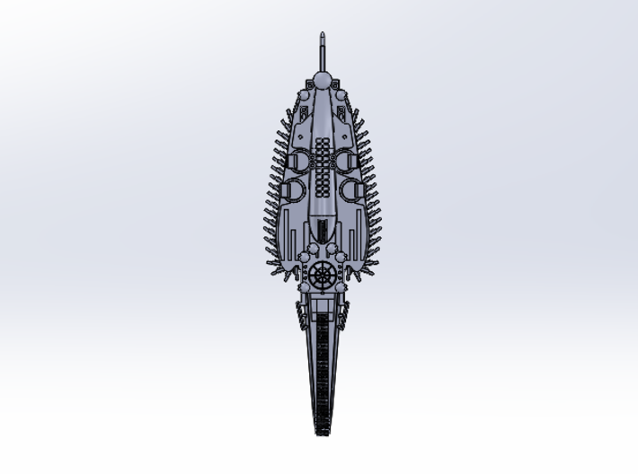 Last Exile. Impetus of Ades Federation 3d printed