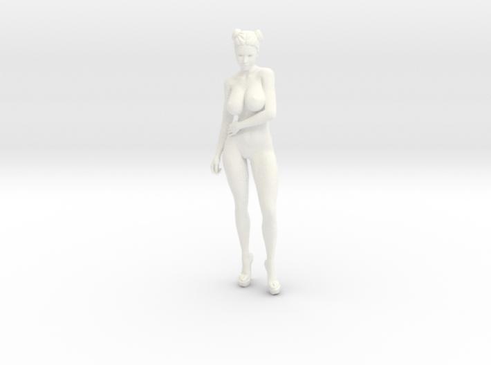 Heels girl 001 Scale 1:10 3d printed