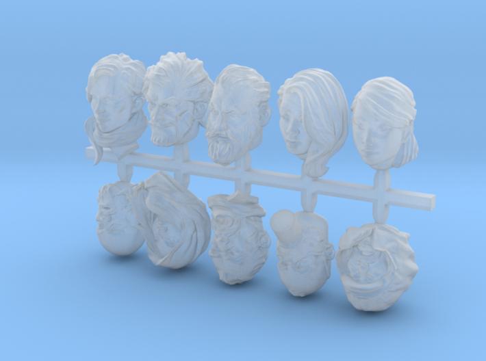 Warfaces 3d printed