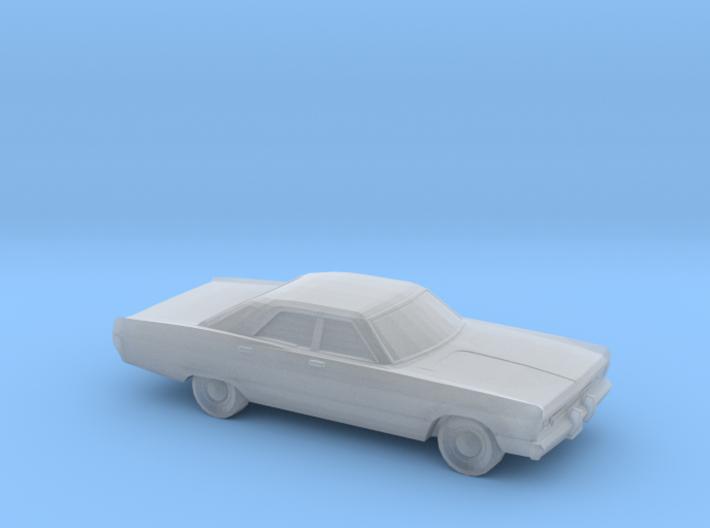 1/120 1969 Plymouth Fury Sedan 3d printed