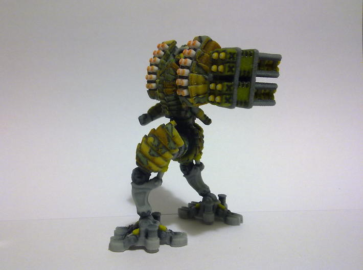 Heavy Mech suit 3d printed Side