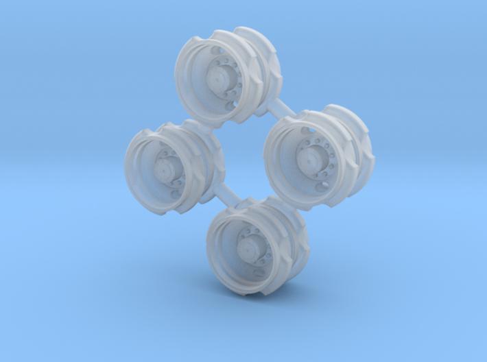 2 Hole Bud Dual - 2 axle sets 3d printed
