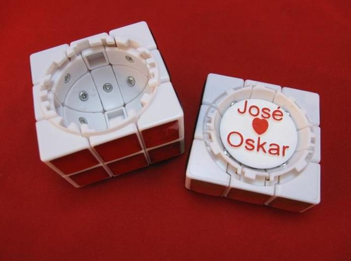 Personalize your Treasure Chest 3d printed Chest openend