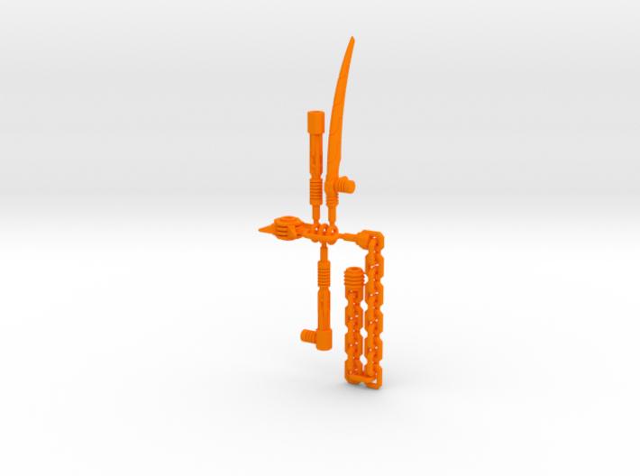 POTP Dinobot Slash Weapon accessories 3d printed