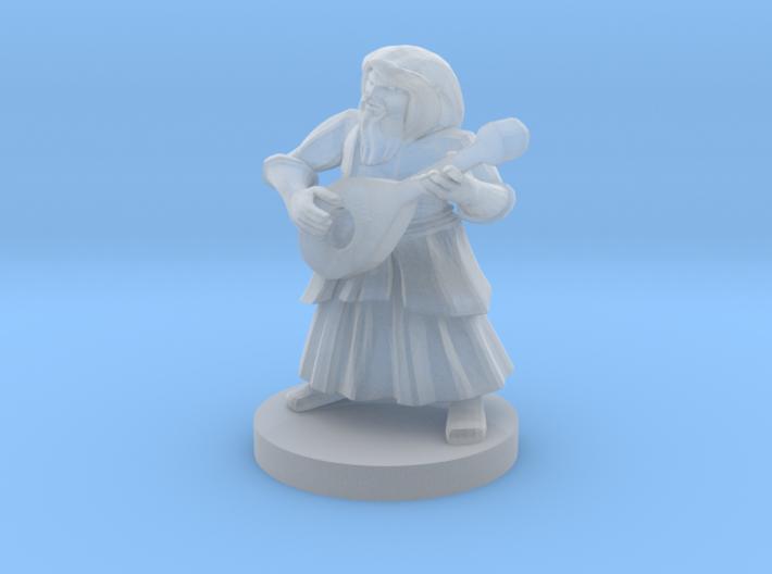 Dwarf Bard 3d printed