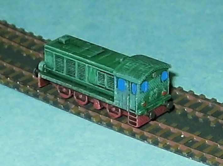 Diesel-Switcher V36 / WR360 1/285 6mm 3d printed Add a caption...