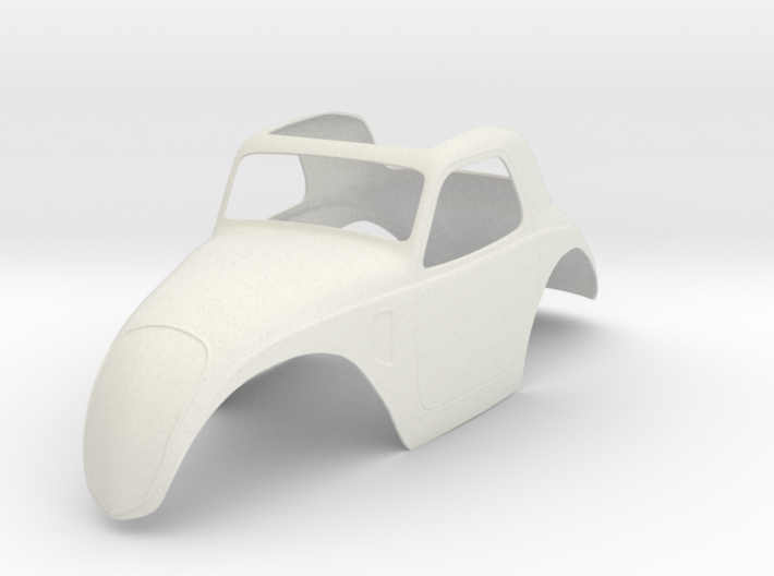 1:8 Fiat Topolino Body 3d printed Shapeway's render image