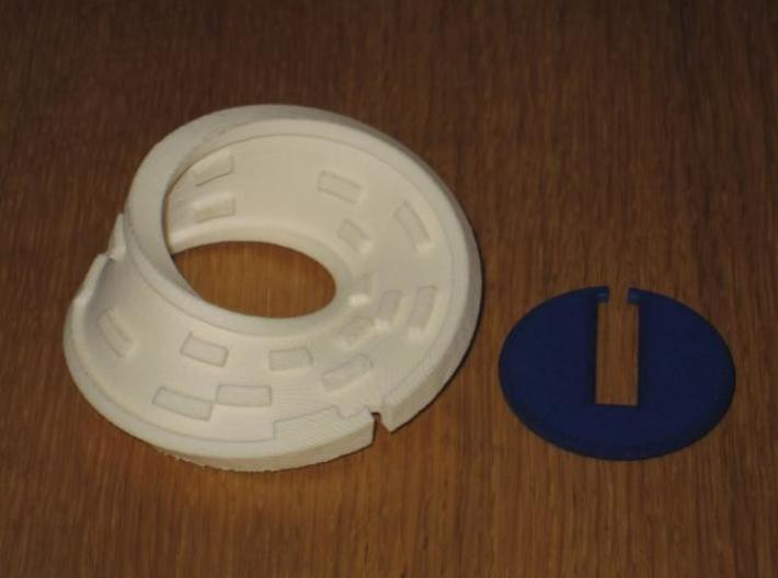 Moby Maze 3d printed Solved!