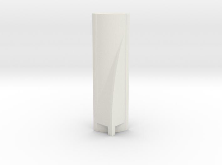 Torre Espacio - Madrid (1:4000) 3d printed
