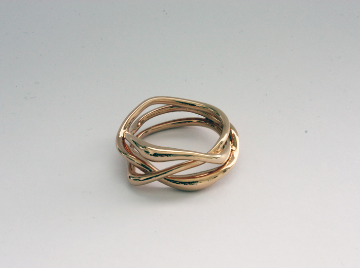 Erato ring 3d printed