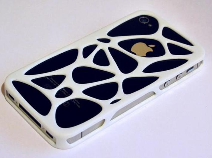 iPhone 4 / 4s case - Cell 3d printed