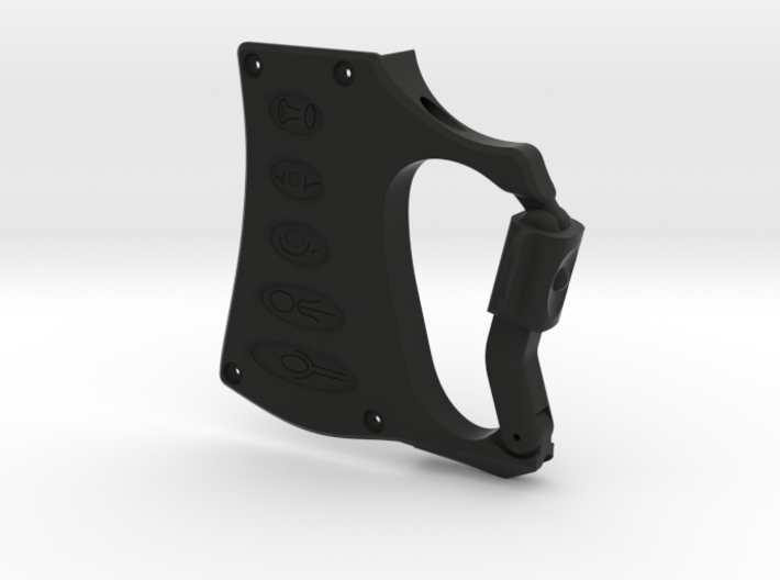 ARROW - Season 6 Bow Carabiner (Static, 1-piece) 3d printed