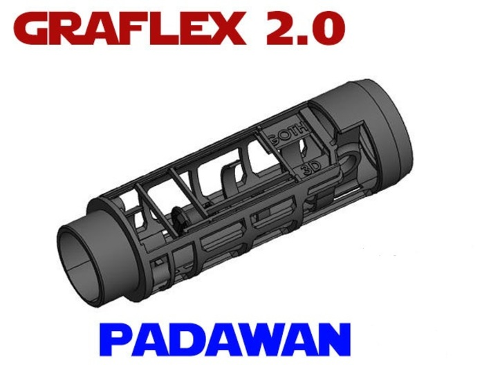 Graflex 2.0 - Padawan Chassis - All-in-1 3d printed
