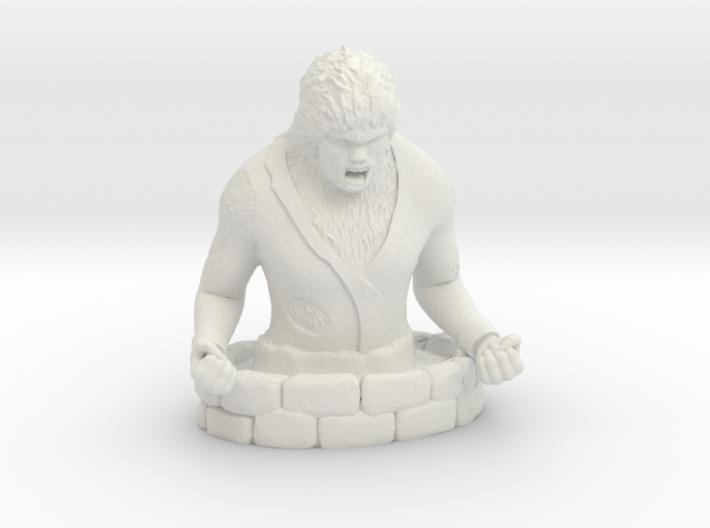 Wolfman 3d printed