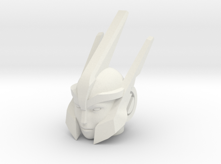 Mistress of Flame head for RID Windblade 3d printed