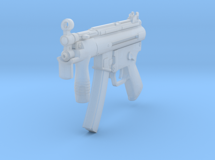 1/16th MP5K 3d printed