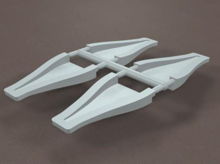 1/8 scale 3 inch NACA ducts 3d printed