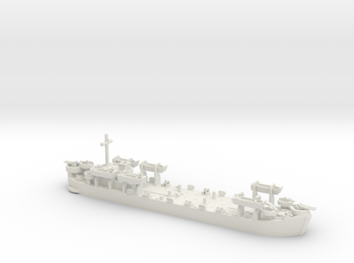 1/600 LST MkII Early 6x LCVP 3d printed