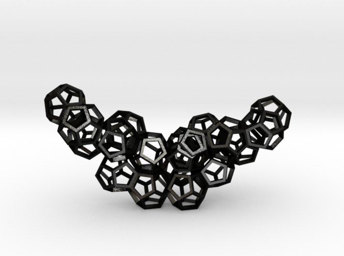 Dodecahedrons pendant 3d printed