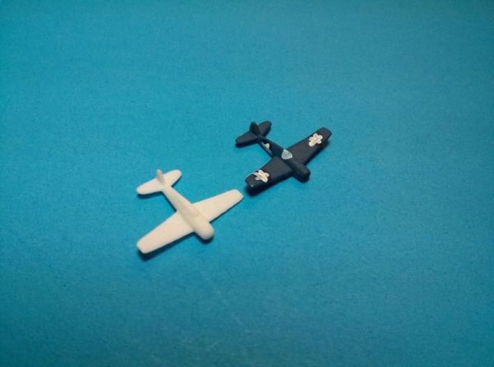 F4F Wildcat x9 3d printed Pieces sold unpainted