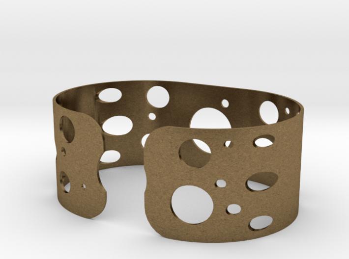 Circles bracelet 3d printed