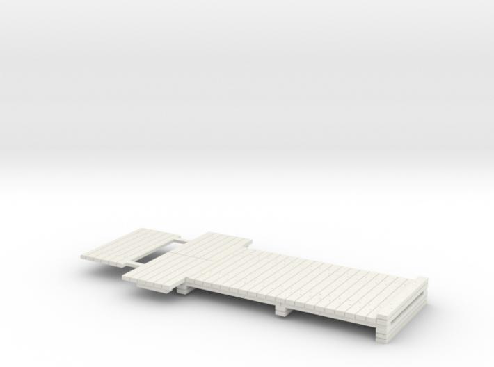 7mm Scale Standard Sleeper Take Off 3d printed