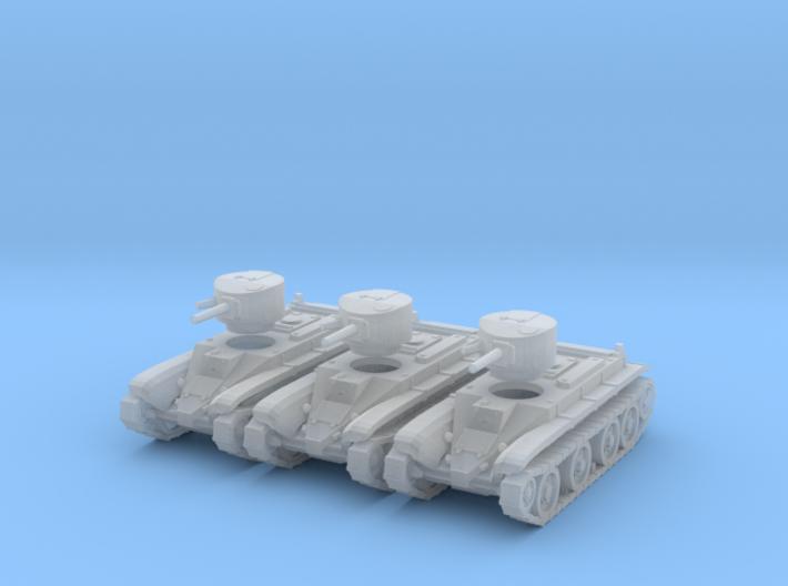 1/160 scale BT-2 tanks 3d printed