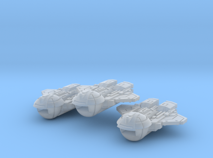 Courier Transports (3) 3d printed