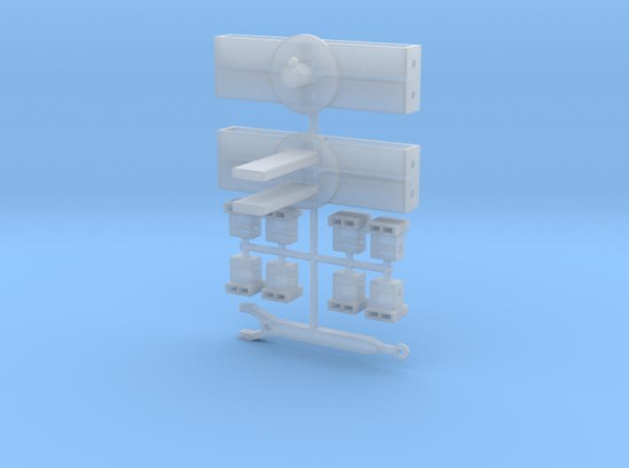 Umbausatz für zwanggelenkten Nachläufer aus Herpa  3d printed