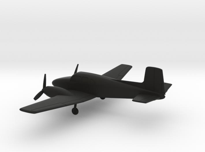 Beechcraft Model 50 Twin Bonanza 3d printed