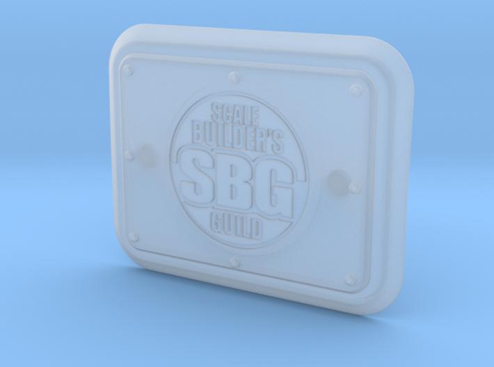 JK17020 2017 JK SBG tailgate detail 3d printed