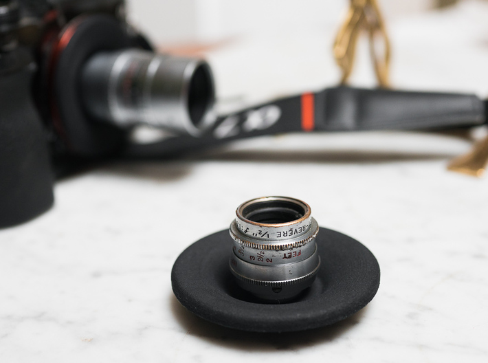 D-Mount to Sony FE-Mount Adapter 3d printed