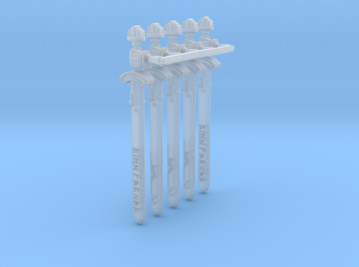 Valkiria pattern Energy Sword (right hand) 3d printed